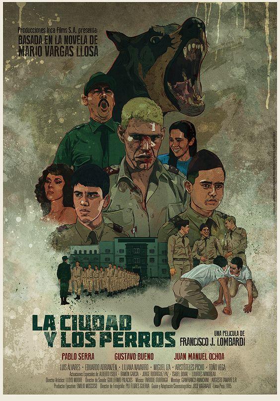 La Ciudad Y Los Perros 1985 De Francisco J Lombardi Tt0085345 Poster Movie Posters Art
