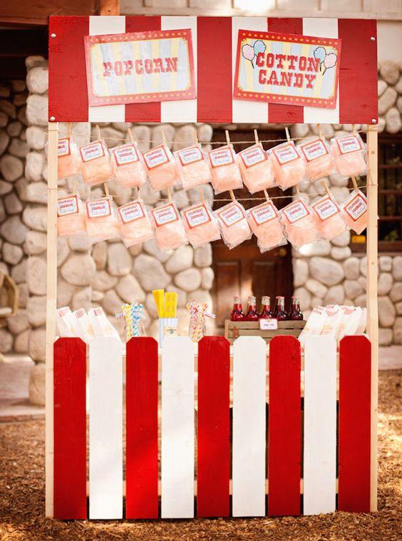 Evite County Fair Popcorn Booth