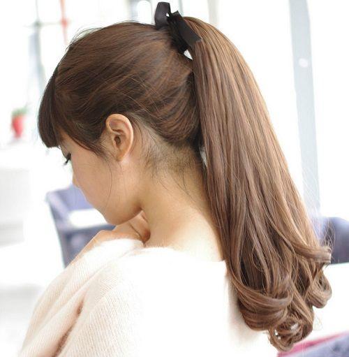 6 Model Rambut Panjang Untuk Wajah Bulat Terfavorit Gaya Rambut
