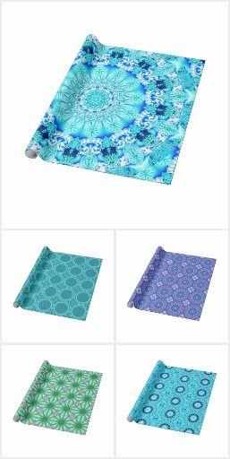Mandala Wrapping Paper #DianeClancy