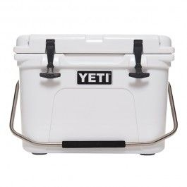 """YETI Roadie 20 Cooler: Chef Bryan Caswell, an ardent angler remarks, """"You can keep a Yeti in the sun for 10 days, but it will stay cold. It's amazing."""" #fathersday #giftideas #Luvo"""