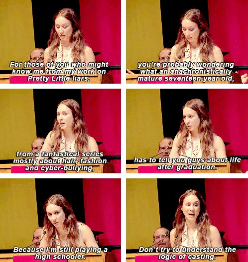 Troian Bellisario usc speech