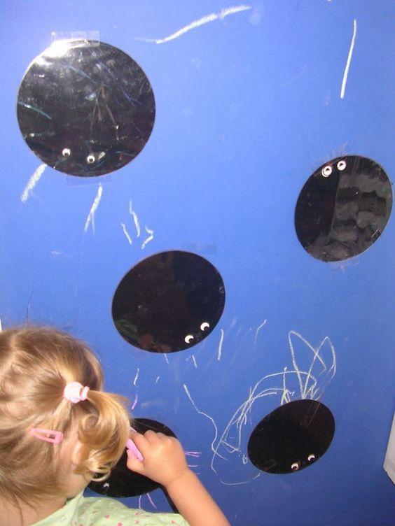 thema spinnen zelf spinnenpootjes tekenen (2.5 j)