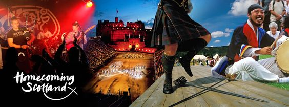 If you're heading over to Scotland this year, keep an eye out for events throughout the special year of Homecoming. There is plenty going on, from huge international sporting events, to regional food tasting festivals.