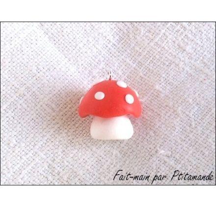 Idée créative : Réaliser un champignon en pâte polymère, par Ptitamande