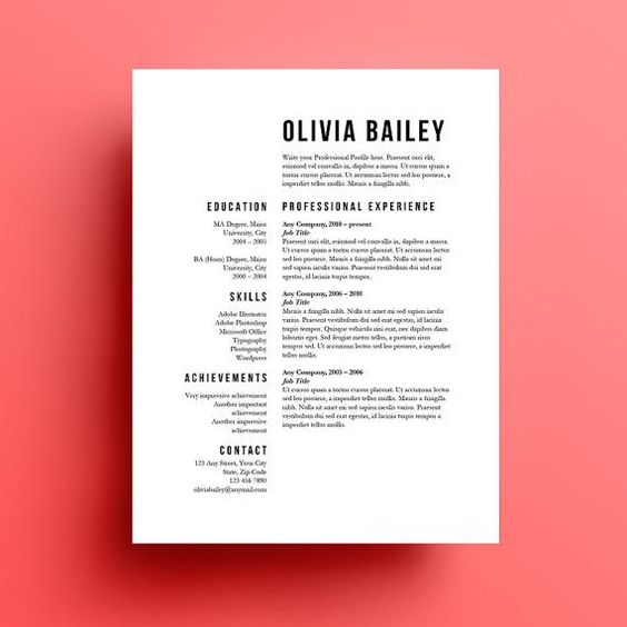 resume template cover letter instant resume