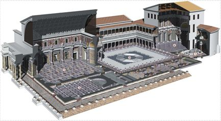 domus flavia reconstruction - Google Search