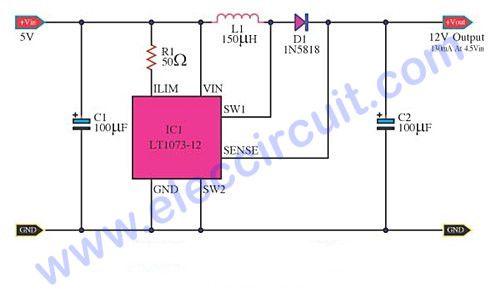 12V DC-DC Converter Voltage 12V to 1.5V CAMPER VAN NEW