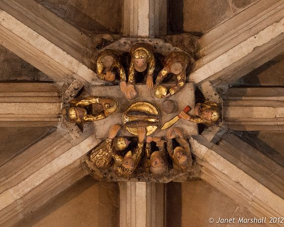 Roof boss - Norwich Cathedral | Flickr - Photo Sharing!