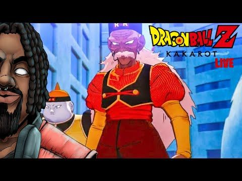 Android Terror Arrives Dragonballz Kakarot Android Saga Part 1 Live Streaming Gamer Youtube Kakarot Vegeta And Trunks Fighter