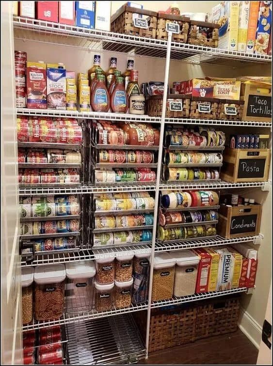 26 Pantry Shelving And Organization Ideas Small Pantry Organization Pantry Shelving Kitchen Organization Pantry