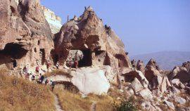 La cappadoce regorge d'habitations troglodytiques
