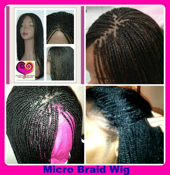 Micro Braids 18 20 Inches Short Bobs Pinterest Wig Hair Style And Locs