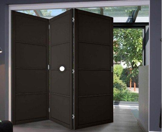 Pintu Pagar Lipat Minimalis Tiga Lapis Kusen Pintu Minimalis Pintu