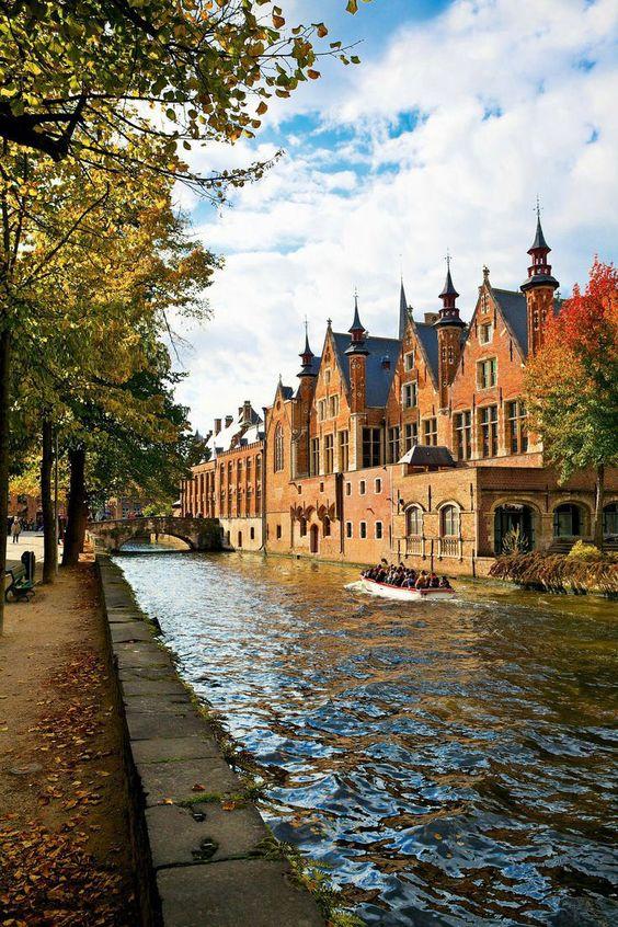 Bruges, Belgium. Next time i visit the Netherlands, i'm going to make my way over.