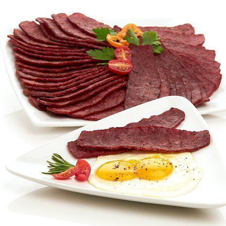 Tony Little Bison 12oz Breakfast Strips 4pk