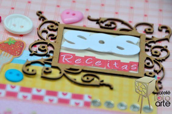 ateliêfotoarte: SOS receitas  #Caderno de Receitas