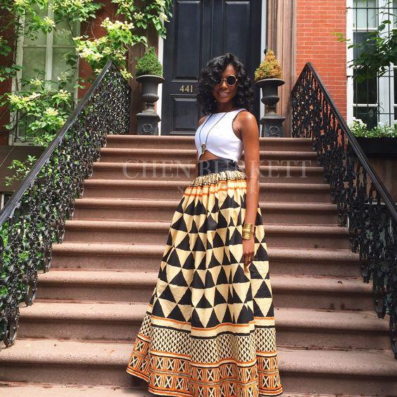 Oni Maxi Skirt - Chen Burkett New York