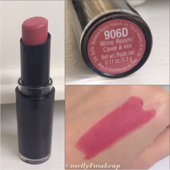 Wet n Wild Mega Last Lipcolor in Wine Room. Follow my instagram @mellyfmakeup