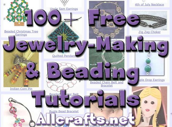 and Beading Tutorials | Free Crafts Tutorials and Patterns | Pinterest