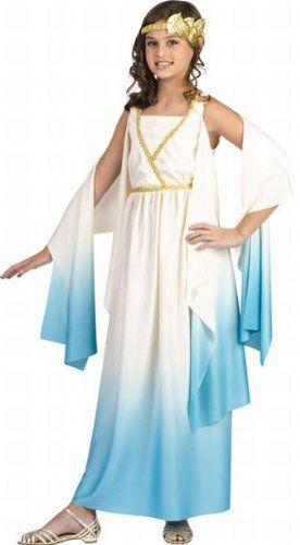 Girls Goddess Costume – Large Real Reviews