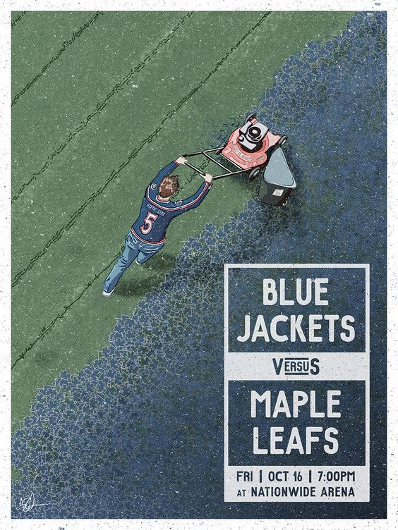 The Columbus Blue Jackets (vs Toronto Maple Leafs) and the Art of