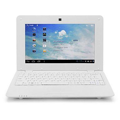 Snowy 10 WiFi Mini Laptop(Android 4.2,4G ROM,512M RAM,Keyboard) - EUR € 74.24