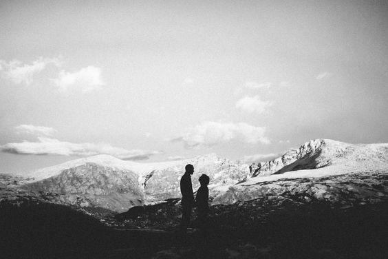 Favorite engagement pic (in Georgetown Colorado)