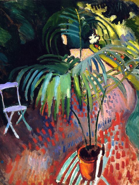 ilovetocollectart:  Raoul Dufy - The Little Palm Tree, 1905