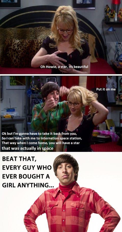 How to win at gift giving. Big Bang Theory