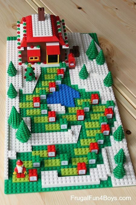 DIY LEGO Advent calendar tutorials via Frugal Fun 4 Boys