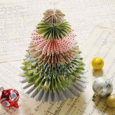 CRIAR Árvore de Natal de Papel