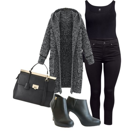 Plus Size Movie Date Outfit  Casual