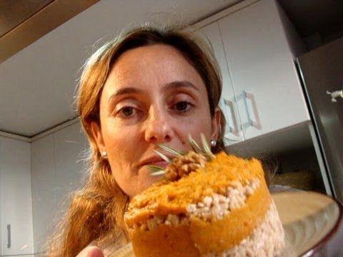 Berenjenas Rellenas con Salsa Tahini Receta: Para Reducir el Colesterol y Tener Energía!! - YouTube