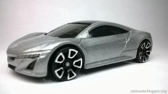 Minicarsbr: Acura NSX Concept - Hot Wheels 2013