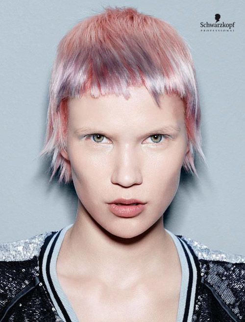 Electric Youth Catwalk. Essential Looks Spring-Summer 2013. Schwarzkopf Professional.