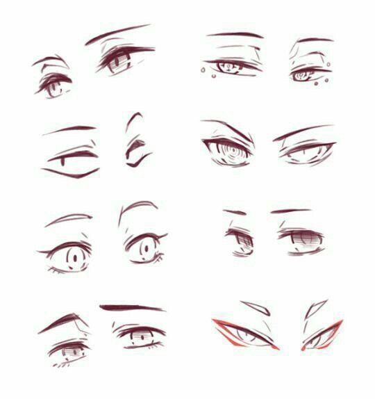 Pin By Dinara13 Horyok On Anime Anime Eye Drawing Eye Drawing Drawing Expressions