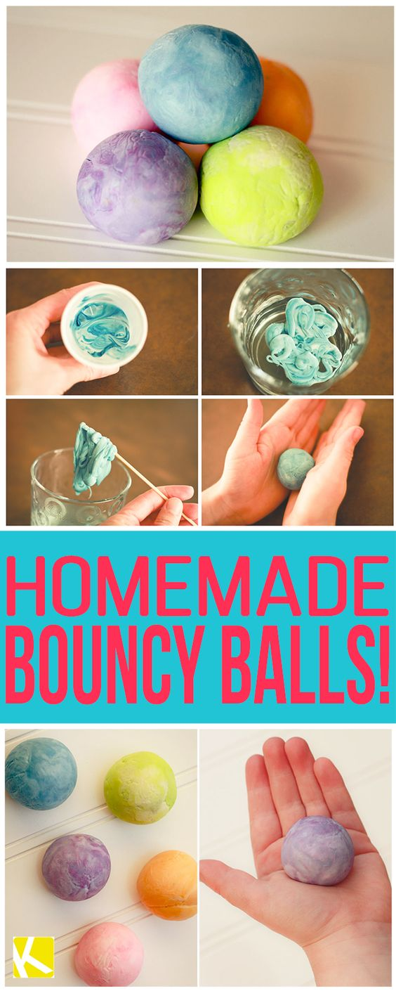 how to make a super bouncy ball at home