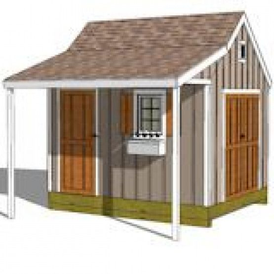 Love This Large Shed Plan Flip It And Have The Side Door Open To The Trees Howtobuildashed 10x12 Shed Plans Shed Homes Shed Plans
