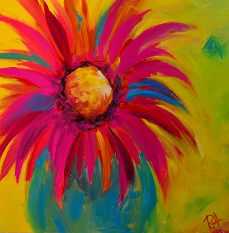 Splash of color nice and colors on pinterest for Nice acrylic paintings