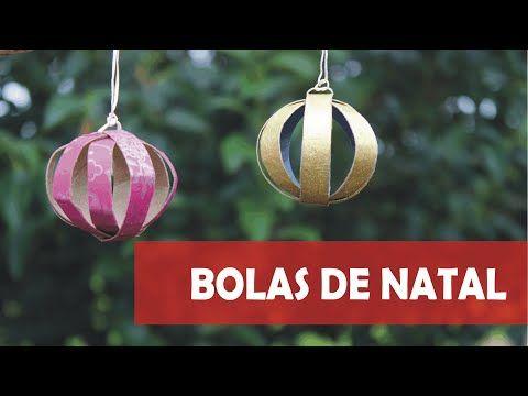 Como fazer Bola de Natal com Paetês - YouTube