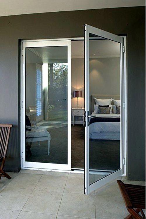 Fashion Design Double Pane Aluminum French Entry Door Doors Huis Buitenschilderwerk