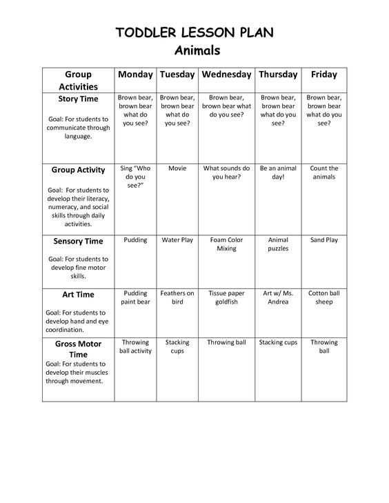 One Day Lesson Plan Template Militaryalicious