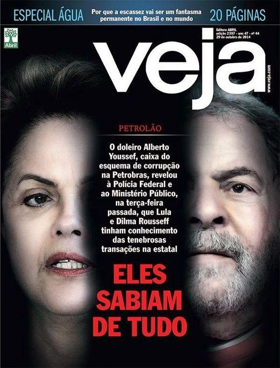 Folha do Sul - Blog do Paulão no ar desde 15/4/2012: REVISTA VEJA RESPONDE A FALA  DA DILMA