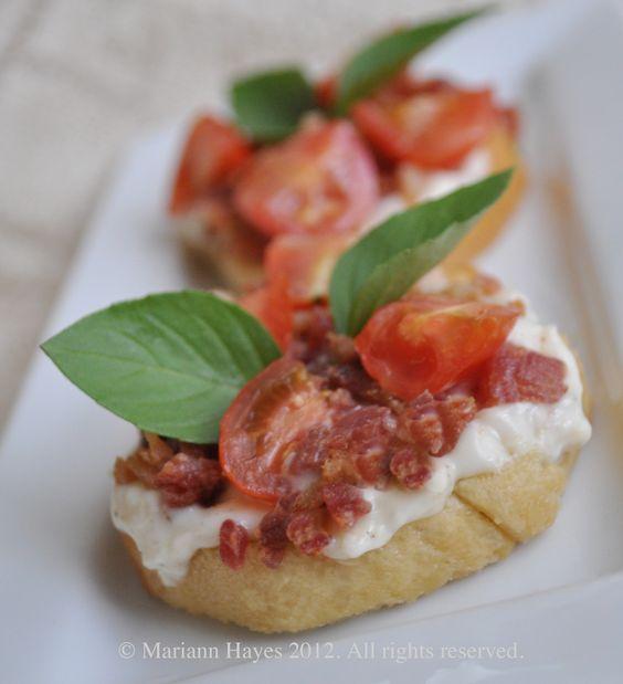 Bruschetta BLT Appetizers
