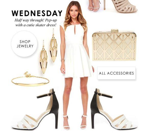 Weekly office wear