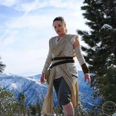 Star Wars The Force Awakens Rey Adult by TangledThreadsDesign  - Cosplay Costume, Star Wars, Custom Made to fit costume, Rey Cosplay by Tangled Threads Design