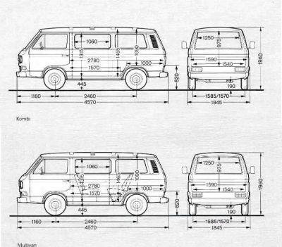 abmessungen vom t3 vw t1 t2 39 s and t3 t25 39 s and other busses pinterest. Black Bedroom Furniture Sets. Home Design Ideas