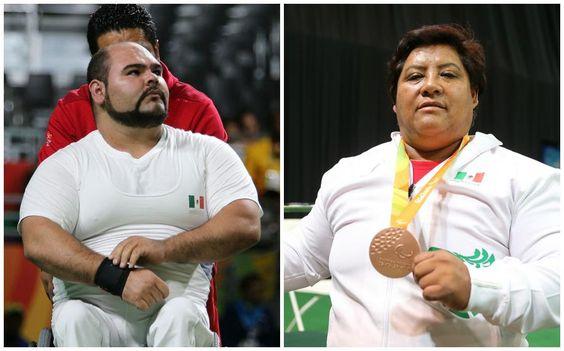 Ganan Catalina Días y Jesús Castillo medalla de bronce en Río 2016