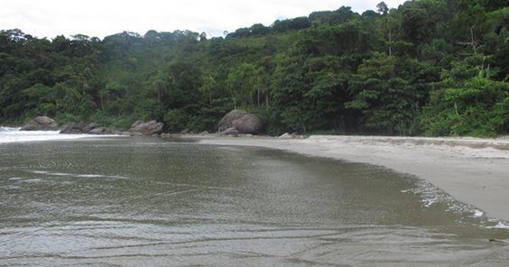 Praias 'secretas' de Guarujá só têm acesso por trilhas e atraem nudistas